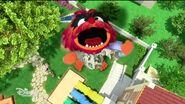 Animal becomes a giant Animal Kong