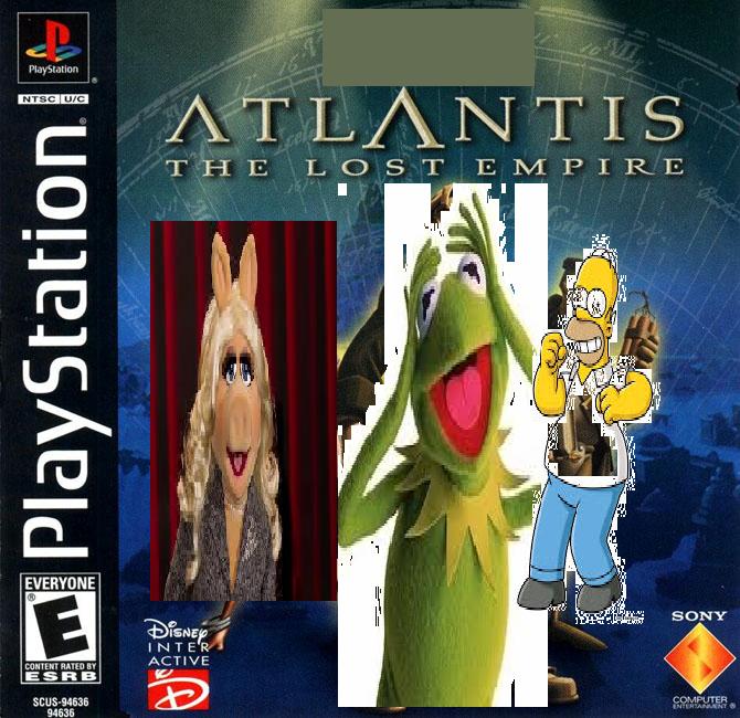Atlantis: The Lost Empire (Julian14bernardino Style)