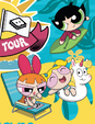 Blossom, Bubbles and Buttercup in Beach Tour Outfits