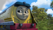 Rebecca's duck face