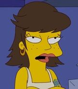 Shauna Chalmers in The Simpsons