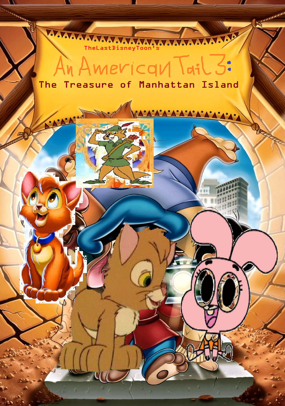 An American Tail 3: The Treasure of Manhattan Island (TheLastDisneyToon Style)