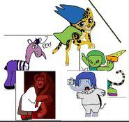 GLA Animal Characters as IO Emotions