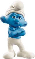 Movie Grouchy Smurf