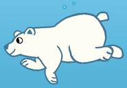 Polar bear lets go to the zoo super simple songs