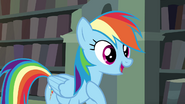 Rainbow Dash ''being to my friends'' S4E25