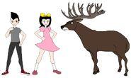 Riley and Elycia meets Red Deer