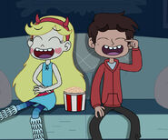 Star and marco watching a comedy movie by deaf machbot daugvuc-pre