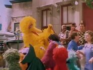 The Sesame Street cast singing the reprise of Together Forever