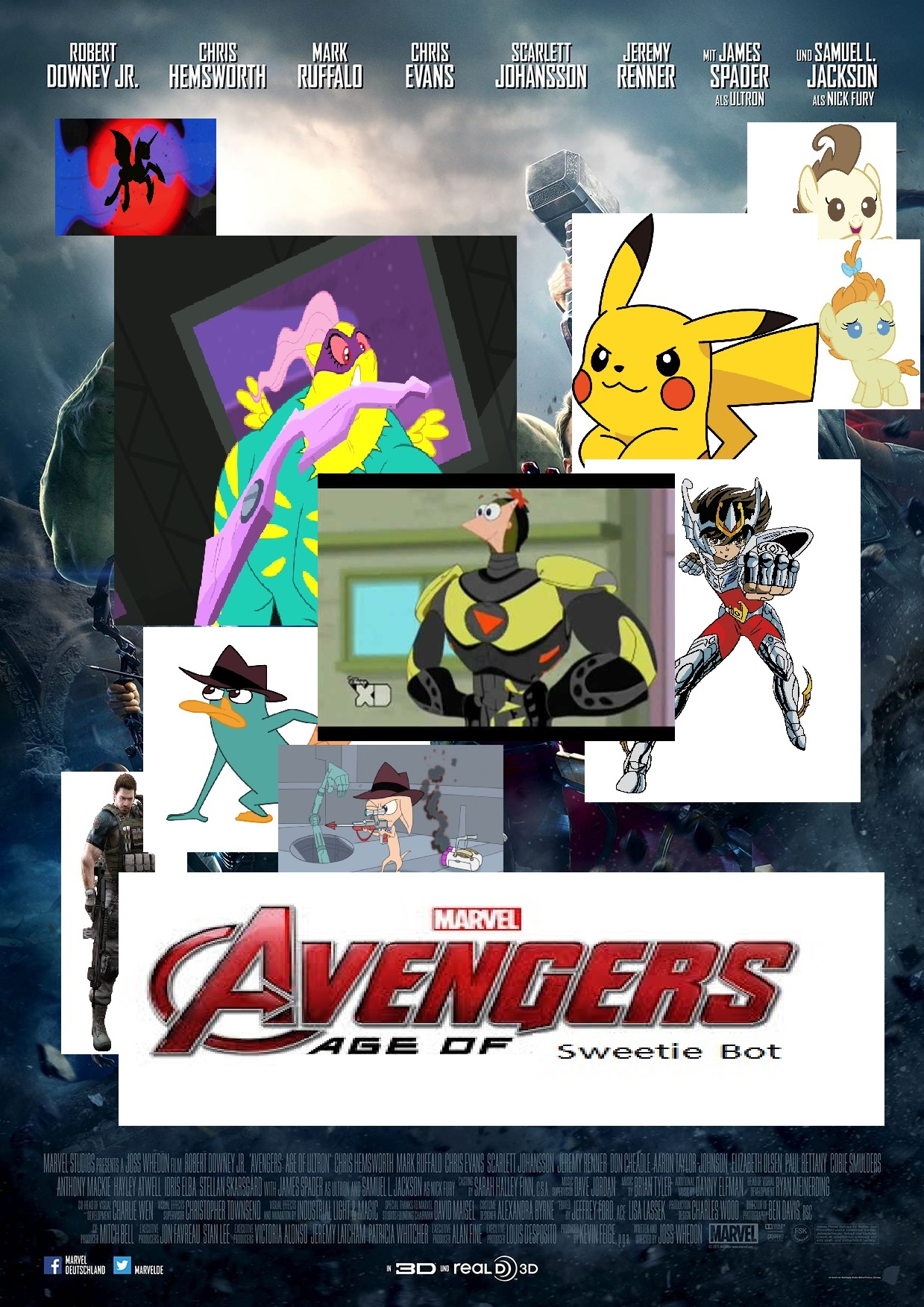 Avengers: Age of Sweetie Bot