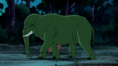 Beast Boy as Elephant