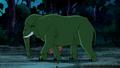 Beast Boy as Elephant