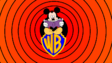 Mickey Mouse on a WB Shield