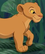 Nala (Young) in The Lion King (1994)