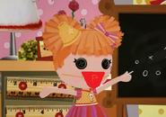Peppy Pom Poms Wearing a Face Mask