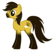 Spirit the Stallion as a Pony