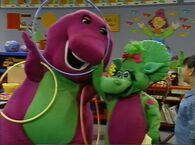 Barney Peek-a-Boo
