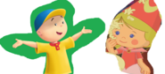 Caillou and Chloe in love