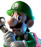 Luigi in Luigi's Mansion