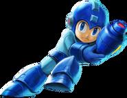 Smash Bros. Ultimate Mega Man Render