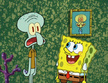 Spongebob visit squidward house