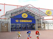 TEAM SONIC GO TO THE MOVIES