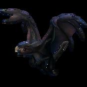 Ancient Black Dragon model