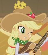 Applejack in My Little Pony- Equestria Girls - Better Together (2017)