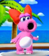 Birdo in Mario Golf- World Tour