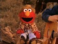 Cowboy Elmo in Wild Wild West