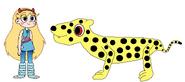 Star meets Cheetah