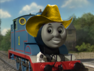 Thomas with cowboy hat 9