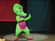 Baby Bop's Street Dance- Barney in Concert
