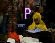 Big Bird and Frazzle sleep at the end of episode 3741