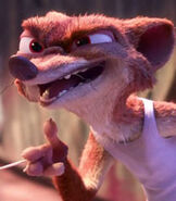 Duke Weaselton in Zootopia