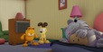 Enraged Garfield and Odie