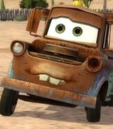 Mater in Cars Race-O-Rama