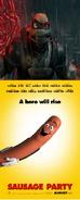 Raphael (2007) Hates Sausage Party (2016)
