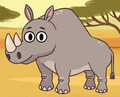 Rhinoceros in turn and learn