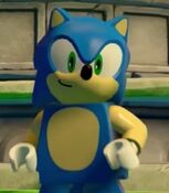 Sonic the Hedgehog in in Lego Dimensions
