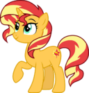 Sunset shimmer pony by cloudyglow dbnxf63-pre