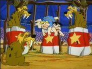 The Flintstones - Lionsauruses from Fred's Big Top Flop
