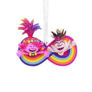 Trolls Poppy and Barb Christmas Ornament