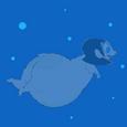 Hippo Ms. Keane Underwater