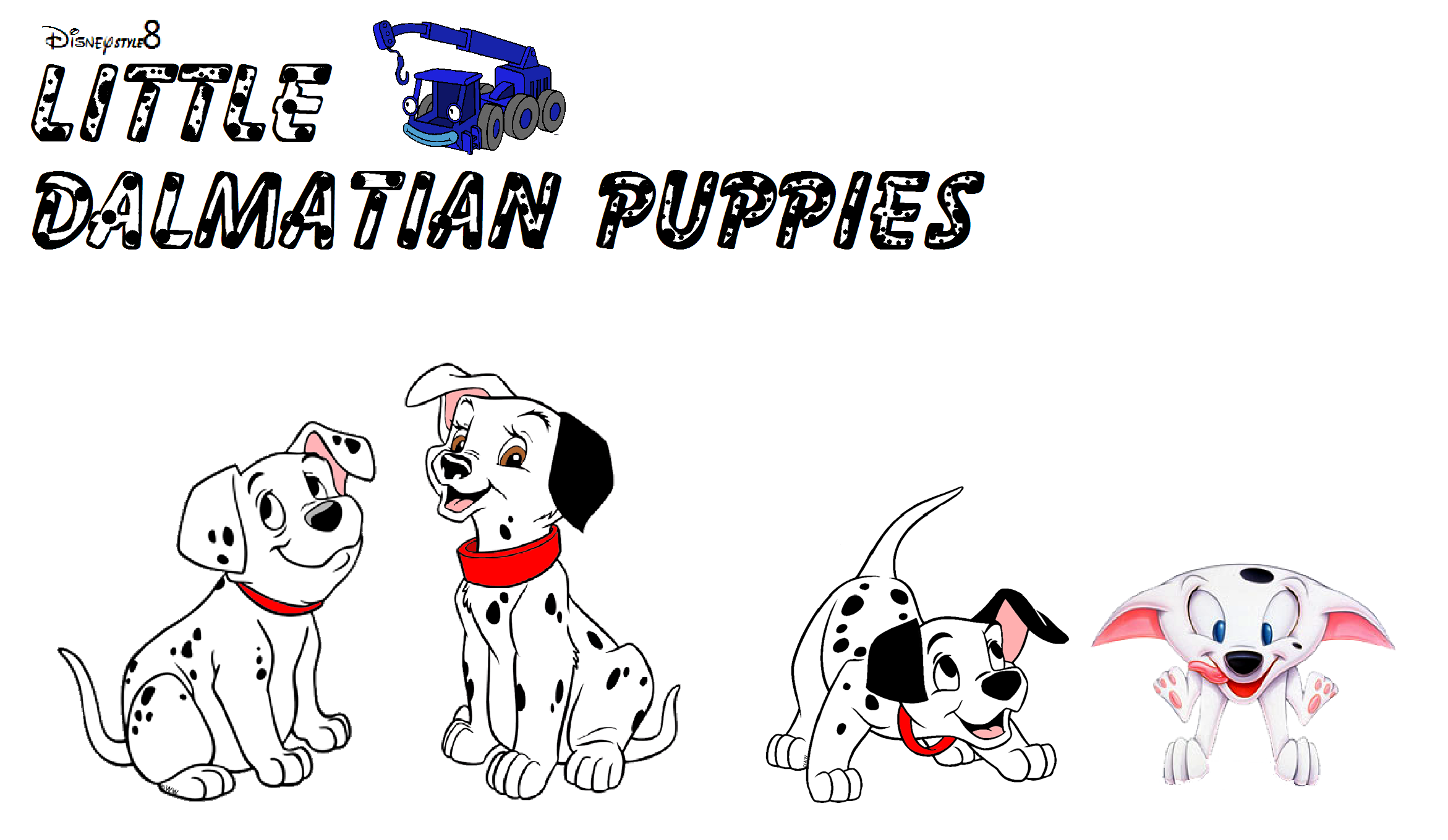 Little Dalmatian Puppies