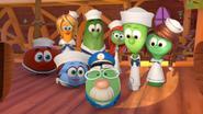 Veggietales-noahs-ark characters happy