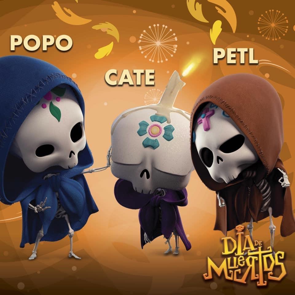 Popo, Cate & Petl