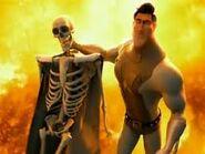 MetroMan's Skeleton