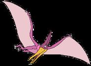 Sally Spacebot pteranodon form thelandbeforetime in thespacebotsadventuresseries