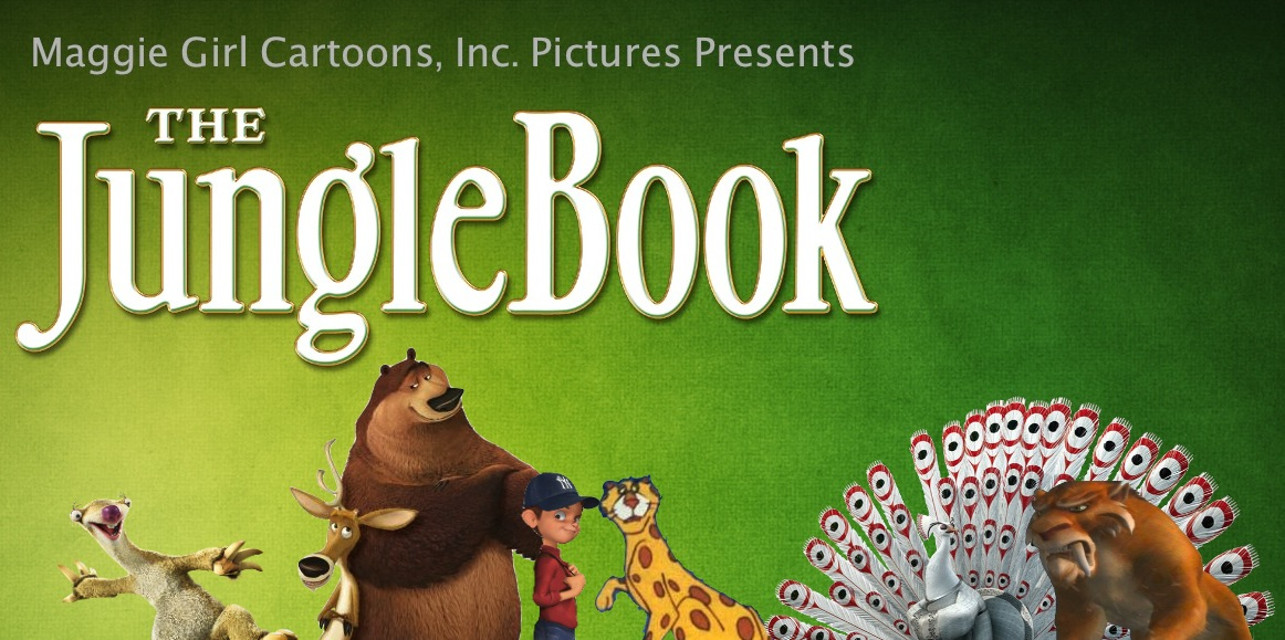 The Jungle Book (1967; Maggie Girl Cartoons, Inc. Pictures Style)